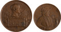 Political:Tokens & Medals, Pair of Napoleon and Moses Cleveland Medals.... (Total: 2 Items)