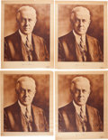 Political:Posters & Broadsides (1896-present), John W. Davis: Four Campaign Posters. ... (Total: 4 Items)