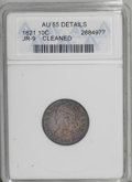 Bust Dimes: , 1821 10C Large Date--Cleaned--ANACS. AU55 Details. JR-9. NGCCensus: (19/117). PCGS Population (20/79). Mintage: 1,186,512....