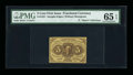 Fractional Currency:First Issue, Fr. 1231 5¢ First Issue PMG Gem Uncirculated 65 EPQ....