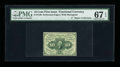 Fractional Currency:First Issue, Fr. 1240 10¢ First Issue PMG Superb Gem Unc 67 EPQ....