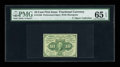 Fractional Currency:First Issue, Fr. 1240(a?) 10¢ First Issue Perforated 16 PMG Gem Uncirculated 65EPQ....