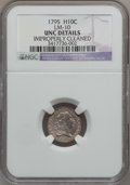Early Half Dimes, 1795 H10C -- Improperly Cleaned -- NGC Details. Unc. V-4, LM-10,R.3....