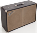 Musical Instruments:Amplifiers, PA, & Effects, Late 1960s Fender 2X12 Speaker Cabinet...