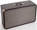 Musical Instruments:Amplifiers, PA, & Effects, Early 1970s Fender Black 2X10 Speaker Cabinet....