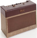 Musical Instruments:Amplifiers, PA, & Effects, 1956 Gibson GA-20T Brown Guitar Amplifier....