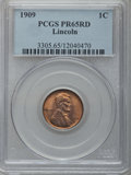 Proof Lincoln Cents, 1909 1C PR65 Red PCGS....