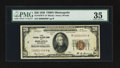 Small Size:Federal Reserve Bank Notes, Fr. 1870-I* $20 1929 Federal Reserve Bank Note. PMG Choice Very Fine 35.. ...