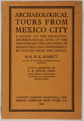 Books:Travels & Voyages, R. H. K. Marett. Archaeological Tours from Mexico City. Simpkin Marshall, 1934. First edition, first printing. M...