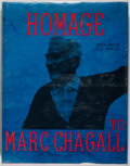 Books:Art & Architecture, Marc Chagall. ORIGINAL LITHOGRAPH. Homage to Marc Chagall. Tudor, 1969. First edition, first printing. Original lith...