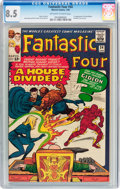 Silver Age (1956-1969):Superhero, Fantastic Four #34 (Marvel, 1965) CGC VF+ 8.5 Off-white to white pages....