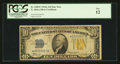 Small Size:World War II Emergency Notes, Fr. 2309* $10 1934A North Africa Silver Certificate Star. PCGS Fine 12.. ...