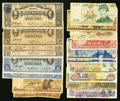 Canadian Currency: , Canada and Western Hemisphere Including Mexico - Part One.. ...(Total: 54 notes)
