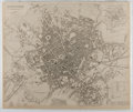 Books:Maps & Atlases, [Map]. Original Map of Birmingham. 1839. Matted. Approx. 13.5 x 16 inches. Shrinkwrapped and not removed for inspection. Ver...