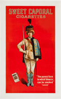 Non-Sport Cards:Singles (Pre-1950), C. 1915 Sweet Caporal Advertising Poster....