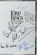Books:Science Fiction & Fantasy, Jude Fisher. CAST SIGNED. The Lord of the Rings: The Fellowship of the Ring, Visual Companion. Houghton Mifflin, 200...