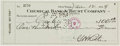 Autographs:Checks, 1934 Babe Ruth Double Signed Check, PSA DNA MINT 9....