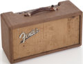 Musical Instruments:Electric Guitars, 1962 Fender Brown Reverb Unit, Serial # R02367....