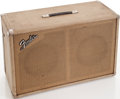 Musical Instruments:Amplifiers, PA, & Effects, 1960s Fender Blonde Speaker Cabinet. ...