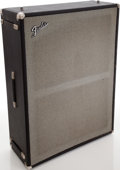 Musical Instruments:Amplifiers, PA, & Effects, Early 1970s Fender Bassman Black Speaker Cabinet, Serial # 11426....