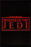 """Movie Posters:Science Fiction, Revenge of the Jedi (20th Century Fox, 1982). Promotional Poster (22"""" X 34""""). Science Fiction.. ..."""