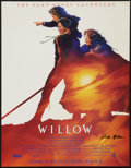 """Movie Posters:Fantasy, Willow (MGM, 1988). Autographed Mini Poster (17"""" X 22"""") Advance.Fantasy.. ..."""