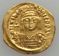 Ancients:Byzantine, Ancients: Maurice Tiberius (AD 582-602). AV solidus (21mm, 4.29 gm,6h)....