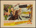 "Movie Posters:Adventure, Run for the Sun (United Artists, 1956). Half Sheet (22"" X 28"")Style A. Adventure.. ..."