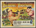 """Movie Posters:Adventure, Bengal Brigade (Universal International, 1954). Half Sheets (2)(22"""" X 28"""") A and B Styles. Adventure.. ... (Total: 2 Items)"""