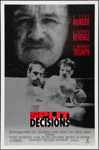 "Split Decisions (New Century Entertainment, 1988). One Sheet (27"" X 41""). Sports"