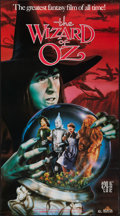 """Movie Posters:Fantasy, The Wizard of Oz (MGM/UA Home Video, R-1988). Video Promo Poster(20"""" X 36""""). Fantasy.. ..."""