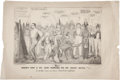 Political:Small Paper (1896-present), Anti-Governor Marcy New York State Cartoon....