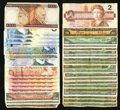 Canadian Currency: , Canadian Shinplasters and Later.. ... (Total: 68 notes)