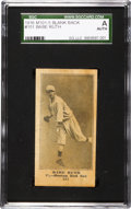 Baseball Cards:Singles (Pre-1930), 1916 M101-5 Blank Back Babe Ruth Rookie #151 SGC Authentic! ...