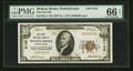 National Bank Notes:Pennsylvania, McKees Rocks, PA - $10 1929 Ty. 1 The First NB Ch. # 5142. ...