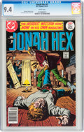 Bronze Age (1970-1979):Western, Jonah Hex #1 (DC, 1977) CGC NM 9.4 White pages....