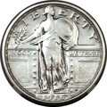 Standing Liberty Quarters, 1916 25C -- Harshly Cleaned -- NGC Details. AU....