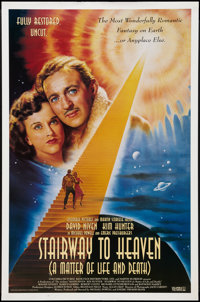 "Stairway to Heaven (Columbia, R-1995). One Sheet (27"" X 41""). Fantasy"