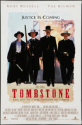"""Movie Posters:Western, Tombstone (Buena Vista, 1993). Promo Poster (17.5"""" X 27""""). Western.. ..."""
