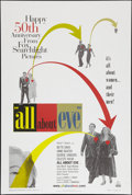"Movie Posters:Academy Award Winners, All About Eve (20th Century Fox, R-2000). 50th Anniversary OneSheet (26.5"" X 39.5"") DS. Academy Award Winners.. ..."
