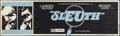 """Movie Posters:Mystery, Sleuth (Palomar, 1972). Banner (24"""" X 82""""). Mystery.. ..."""