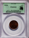 Proof Indian Cents, 1894 1C PR65 Red PCGS....