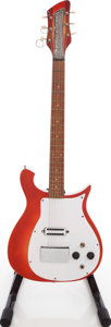 Musical Instruments:Electric Guitars, 1961 Rickenbacker Combo 425 Fireglo Solid Body Electric Guitar,Serial # AB 154....
