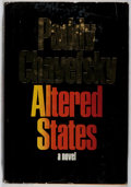 Books:Science Fiction & Fantasy, Paddy Chayefsky. Altered States. Harper, 1978. First edition, first printing. Price-clipped. Small stain to bottom e...