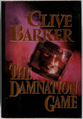 Books:Horror & Supernatural, Clive Barker. SIGNED. The Damnation Game. Ace/Putnam, 1987.First edition, first printing. Signed by the author. ...