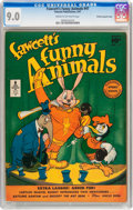 Golden Age (1938-1955):Funny Animal, Funny Animals #47 File Copy/Crowley pedigree (Fawcett Publications,1947) CGC VF/NM 9.0 Cream to off-white pages....