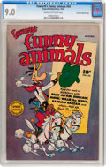 Golden Age (1938-1955):Funny Animal, Funny Animals #54 File Copy/Crowley pedigree (Fawcett Publications,1947) CGC VF/NM 9.0 Cream to off-white pages....