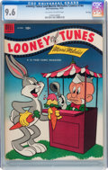 Golden Age (1938-1955):Cartoon Character, Looney Tunes and Merrie Melodies Comics #144 File Copy (Dell, 1953)CGC NM+ 9.6 Off-white to white pages....