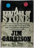 Books:Americana & American History, [Kennedy Assassination]. Jim Garrison. A Heritage of Stone.Putnam, 1970. First edition, first printing. Soft bu...