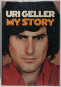 Books:Biography & Memoir, Uri Geller. SIGNED. My Story. New York: Praeger, [1975].First edition. Signed by Geller on the front free endpape...